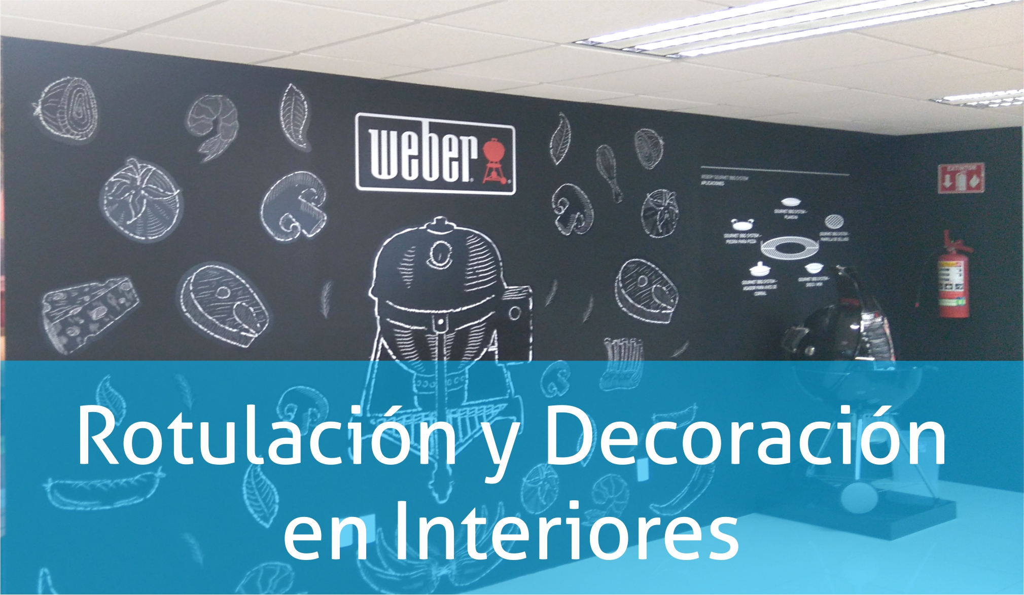 Rotulación y Decoración en Interiores